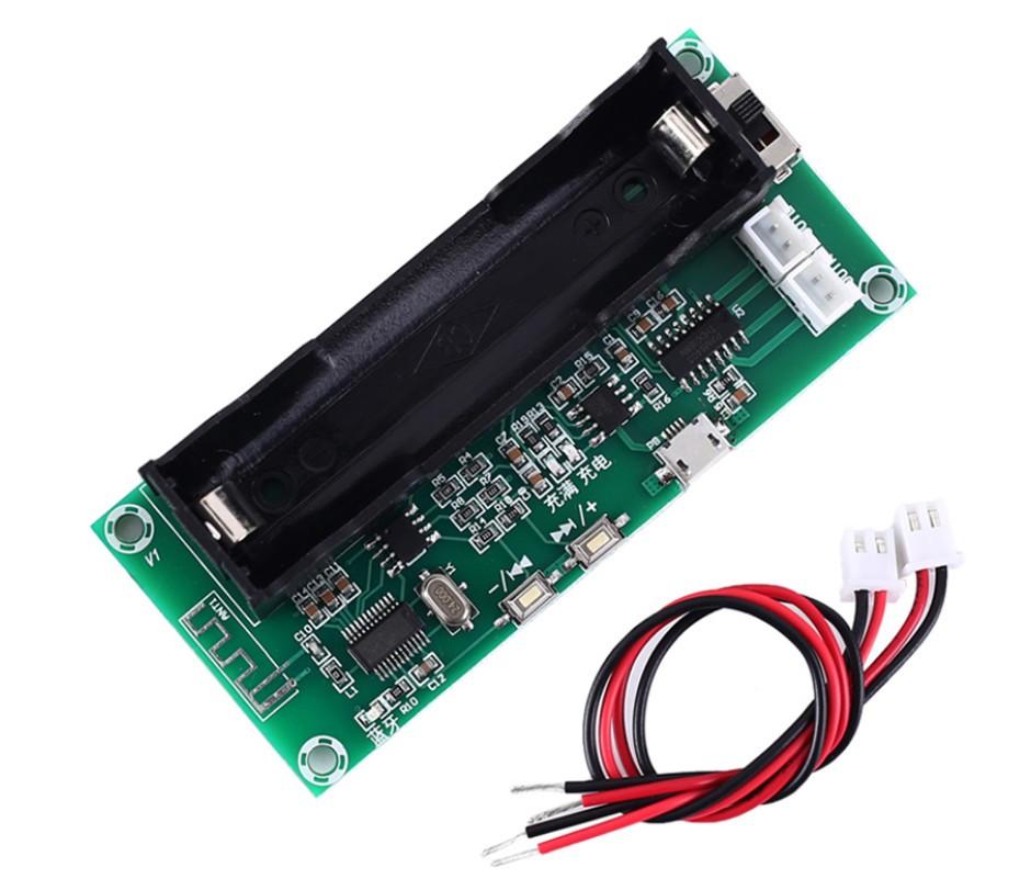 Беспроводной Bluetooth XH-A153 усилитель PAM8403 3 W + 3 W  и аккумулятором 18650