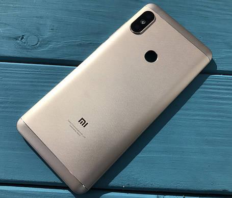 Задняя крышка для Xiaomi Redmi Note 5 золотой, фото 2