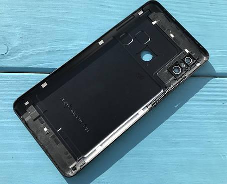 Задняя крышка для Xiaomi Redmi Note 5 черная, фото 2