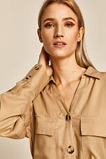 Платье-рубашка миди, фото 3