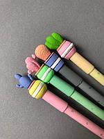 Ручка-кактус з гумкою