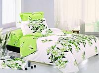 """Семейное постельное белье евро-размер с двумя пододеяльниками (4816) хлопок """"Ранфорс"""" KRISPOL Украина"""