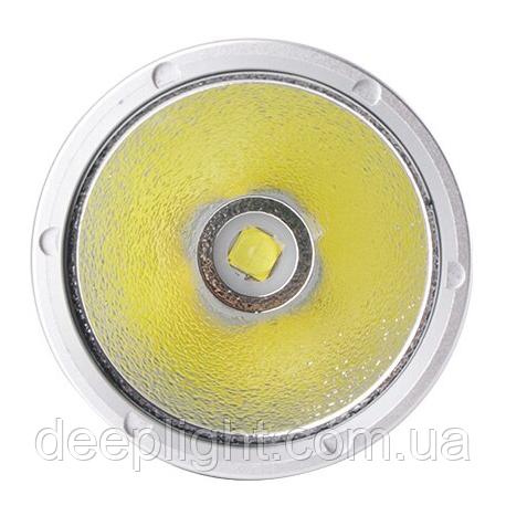 Потужний ліхтар Deeplight P70 з жовтим світлом на Cree XHP70.2 30W під 26650/18650 дайвінг, рибалка