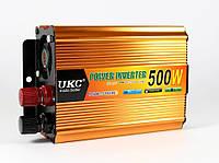 Преобразователь 500W Инвертор с 24в на 220в