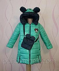Демисезонные детские куртки для девочек размеры 30-40
