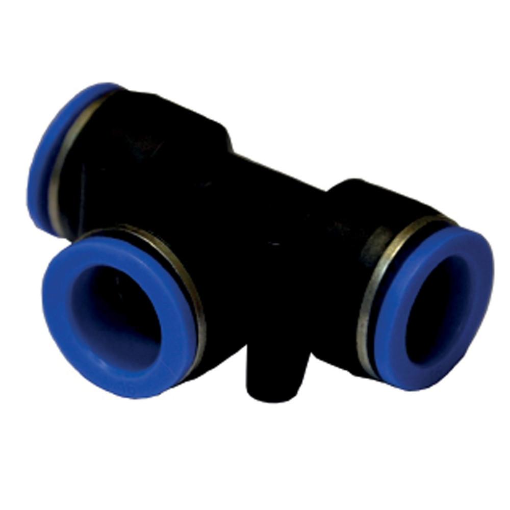 Соединение цанговое T Ø8×10мм Sigma (7026421)