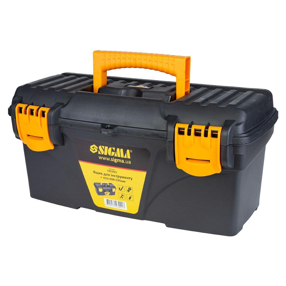 Ящик для инструмента 410×209×195мм SIGMA (7403901)