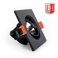 Поворотный точечный светильник ElectroHouse LED 5Вт черный, металл