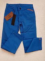 Стильные брюки для мальчика 16 лет, цвет синий