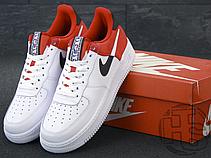 Мужские кроссовки Nike Air Force 1 '07 LV8 Red/White/Black BQ4420-600, фото 2