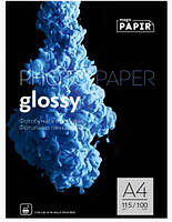 Глянцевая фотобумага PAPIR Magic A4  115 грамм   (100 листов) Superior