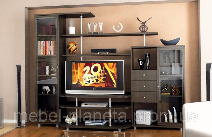 Стенка в гостиную «Рио-2» Мебель-Сервис