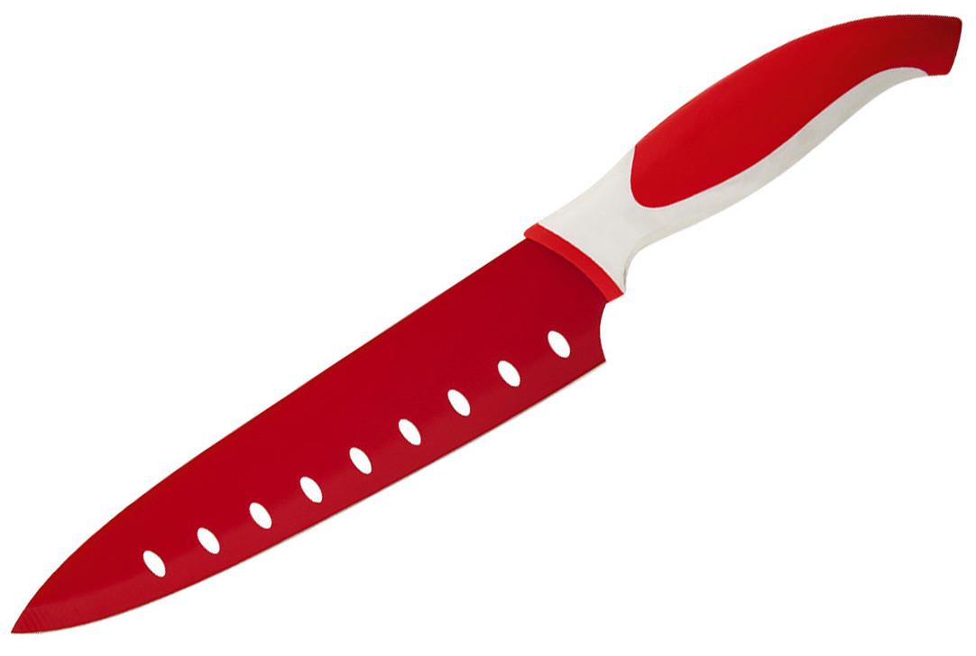 Нож с полимерным покрытием 20,3 см Granchio 88666 - Mini-Cena - интернет магазин посуды и бытовой техники  в Луцке