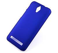 Пластиковый чехол для Asus Zenfone C ZC451CG синий, фото 1