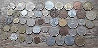 Монети 50 шт
