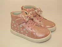 Черевики дитячі Clibee P317 для дівчинки рожеві
