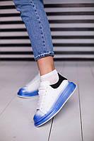 Кроссовки Alexander McQUEEN Бело-синие