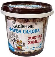 Краска садовая защита от зайцев, 1,4 кг, Агрохимпак