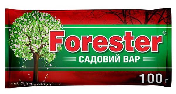 Садовый вар Forester 100 г, Агрохимпак  для обработки деревьев