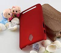 Пластиковый чехол для Asus Zenfone C ZC451CG бордовый
