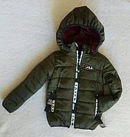 Крутая детская куртка весна-осень рост 116см