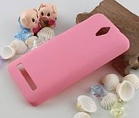 Пластиковый чехол для Asus Zenfone C ZC451CG розовый