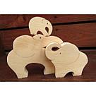 Сім'я слонів(три слона), фото 3