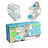 Органайзер для хранения для ванной или кухни Basket Drawers Portable на 2 съемные секции (509)! Топ продаж - Фото