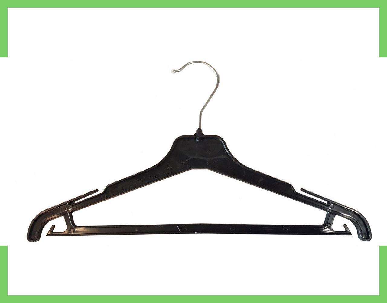 Вешалка костюмная пластмассовые для одежды Женская 40 см