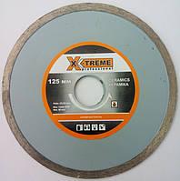 """Алмазный диск, для резки керамической плитки, керамогранита X-TREME 125*5*22.22 """"Сухорез"""""""