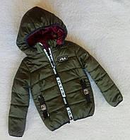 Крутая детская куртка весна-осень рост 122см