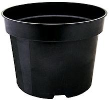 Вазон для рассады круглый 11х8 черный