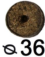 Таблетки торфяные d - 36 мм