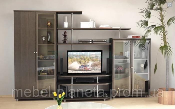 Стенка в гостиную «Рио-4» Мебель-Сервис