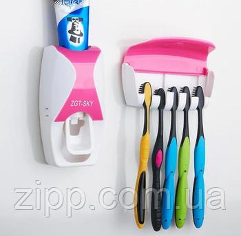 Автоматичний диспенсер для зубної пасти та щіток