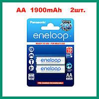 Panasonic Eneloop аккумулятор AA 1,2 V 1900 mAh (2 штуки) Ni-MH