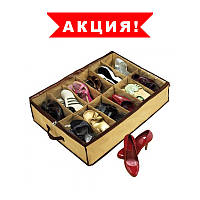 Органайзер для хранения обуви Shoes Under (Шузандер). Шуз андры Shoes under на 12 пар Т063! Топ продаж