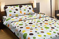 Постельное белье Lotus Ranforce Multi оранжевый двуспального размера