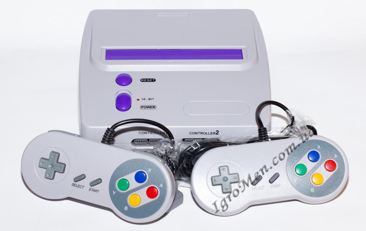 Приставка Super Nintendo (Super Famicom, SNES 16 bit)