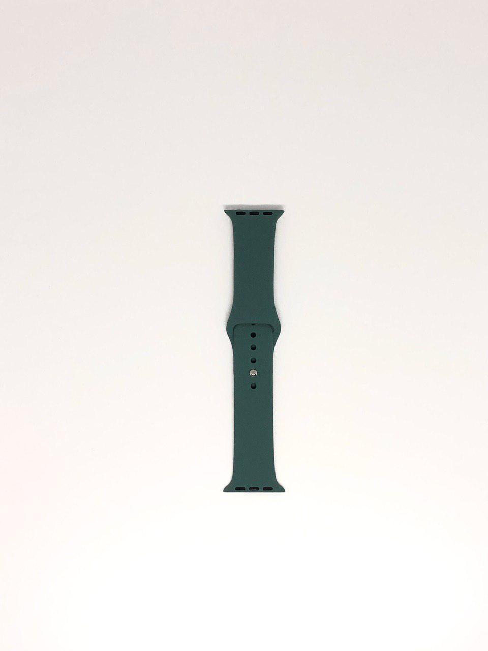 "Ремінець Apple watch 38/40 mm - ""Pine green №58"""