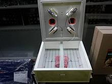 Інкубатор Курочка Ряба на 130 яєць з хутро.переворотом в пластиковому корпусі.