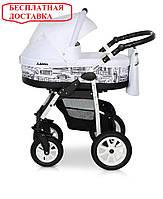 Детская универсальная коляска 2 в 1 Verdi Laser 03 Белый