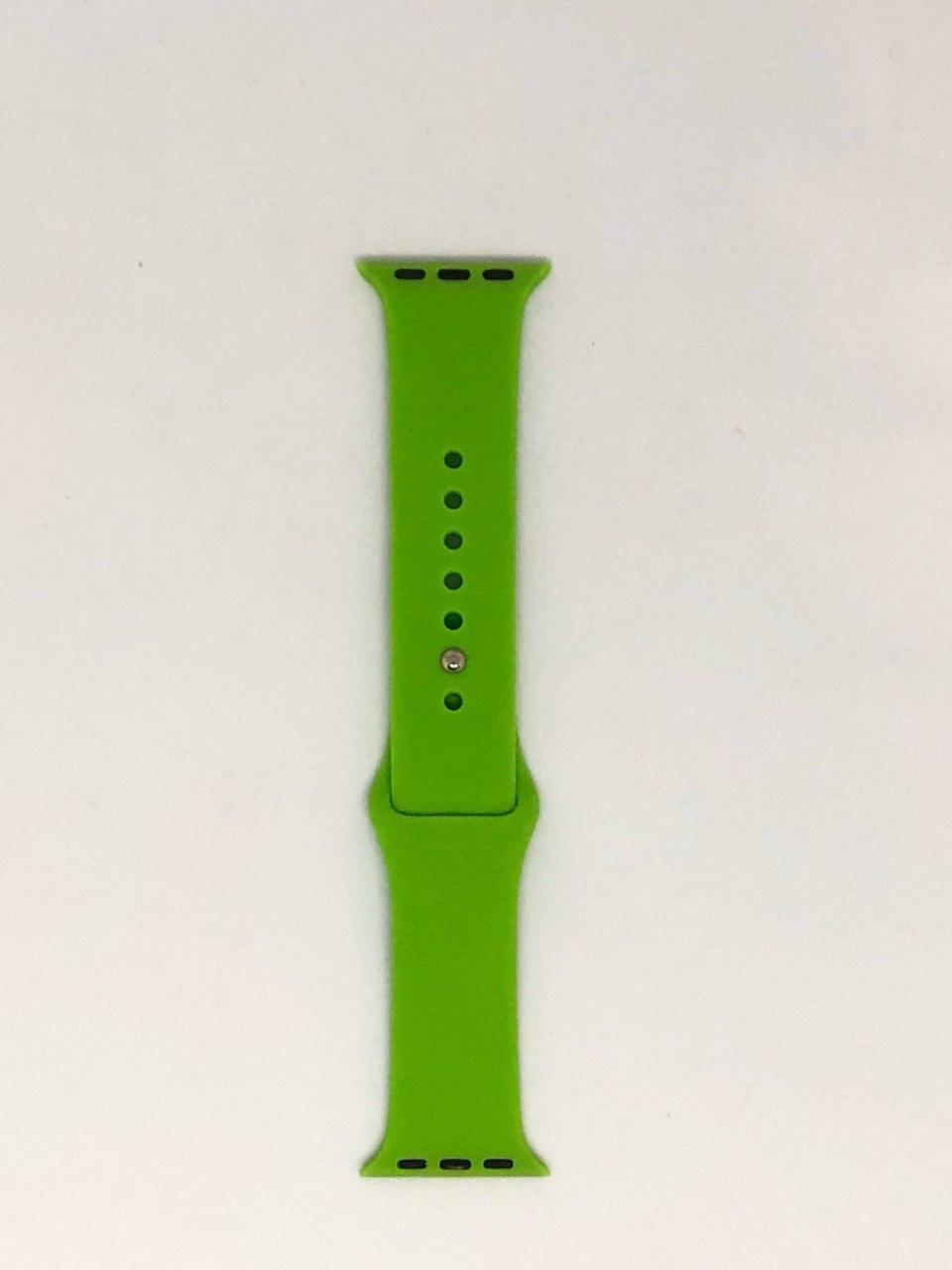 "Ремешок Apple watch 38/40 mm - ""Лайм №31"""