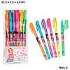 Ручки TOP Model Набір кольорових гелевих ручок 6 шт ( Набор цветных гелевых ручек TOP Model 6 шт в упаковке ), фото 3