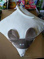Наволочка декоративная Мышка 40*40см- символ 2020года, фото 1