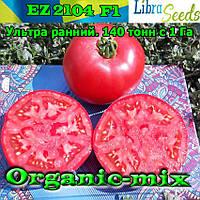 """Томат очень ранний EZ 2104 F1 (Темно-розовый, крупный) ТМ """"Libra Seeds, упаковка 1000 семян"""
