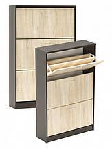 Тумба для обуви 3-х дверная 600/800 Мебель-Сервис