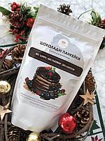 Шоколадная безглютеновая смесь для выпечки панкейков и бисквитов