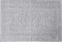 Полотенце махровое для ног серое (Турция)