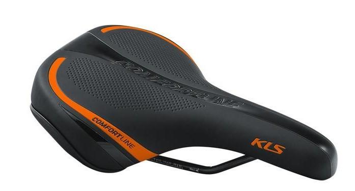 Сідло велосипедне KLS Comfortline 17 помаранчевий